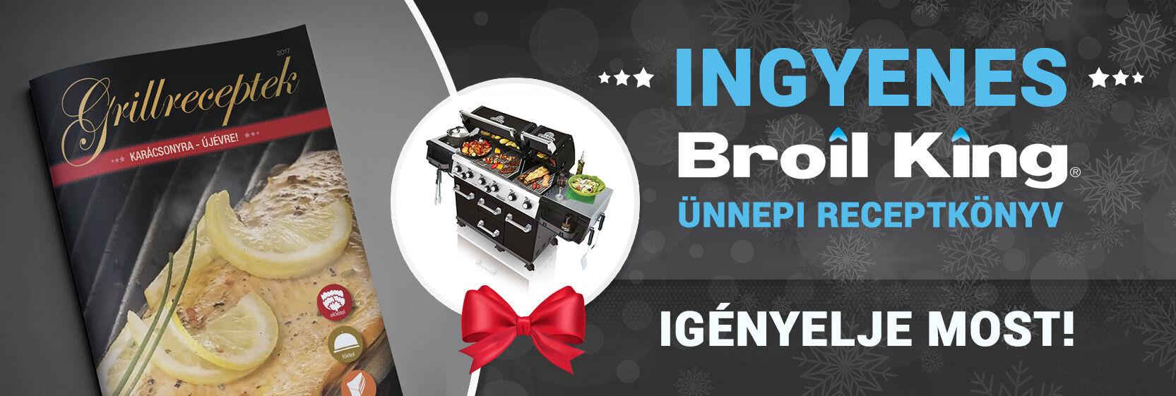 2017.12 Broil King grillreceptek